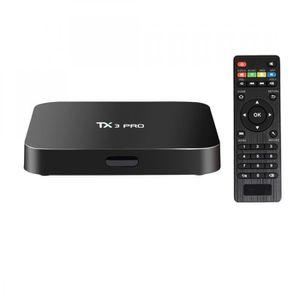 BOX MULTIMEDIA Box Smart TV Android 6.0 - TX3 Pro 4K UHD avec tél
