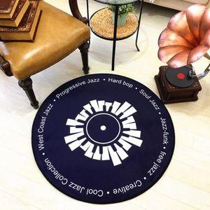 TAPIS Tapis de disque vinyle 100cm