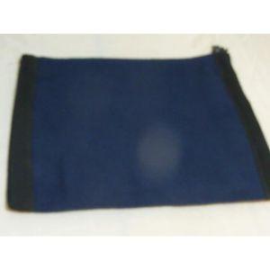 BONNET - CAGOULE Tour de cou double polaire bleu et noir pour le sk 2fc77153e67
