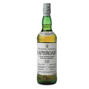 WHISKY BOURBON SCOTCH Laphroaig 10 ans 100 cl