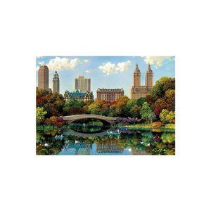 PUZZLE Puzzle Adulte : Central Park Bow Bridge - 8000 Pie