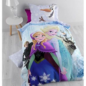 housse de couette reine des neiges achat vente housse. Black Bedroom Furniture Sets. Home Design Ideas