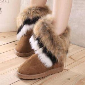 BOTTE 9  -l'hiver chaud lapin longues bottes pour la nei