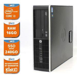 UNITÉ CENTRALE  ordinateur de bureau HP elite 8200 core I3 16go ra