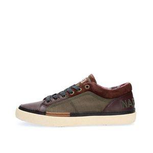 45 Achat Homme Sneakers Marron Brown Napapijri Dark Brown qTRvwwxC