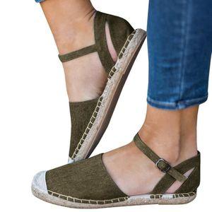 SANDALE - NU-PIEDS Minetom Femmes Sandales Poissons Bouche Sandale Ch