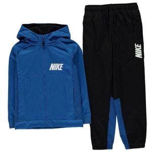 SURVÊTEMENT Jogging à Capuche Nike Garcon Bleu et Noir
