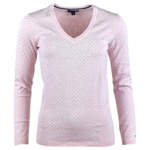 Pull col v tommy femme Achat Vente pas cher