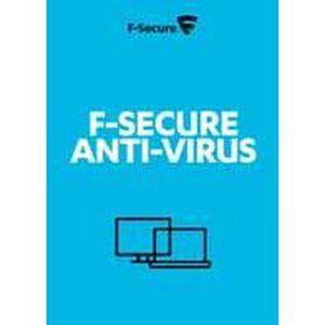 BUREAUTIQUE À TÉLÉCHARGER F-Secure Anti-Virus - 5 Postes - 1 an