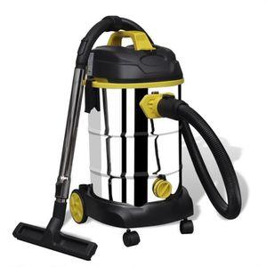ASPIRATEUR INDUSTRIEL Aspirateur professionnel eau-poussière 1800 W pour