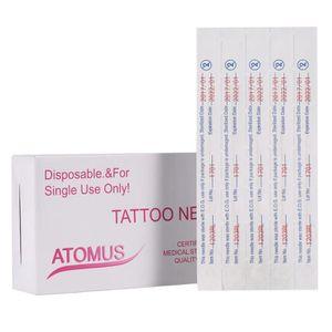 AIGUILLE DE TATOUAGE 50Pcs aiguille à tatouer jetable cutting Liner Dou