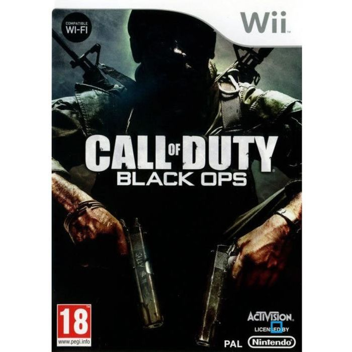 JEUX WII Call of Duty Black OPS Wii