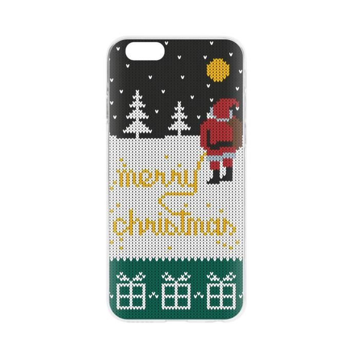 FLAVR Coque Cardcase Ugly Xmas Sweater Yellow Snow - Iphone 6 / 6s