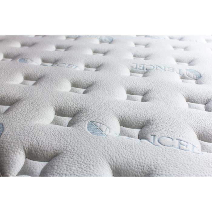 matelas blue nano gel m moire de forme et gel frais 160x200 achat vente matelas soldes. Black Bedroom Furniture Sets. Home Design Ideas