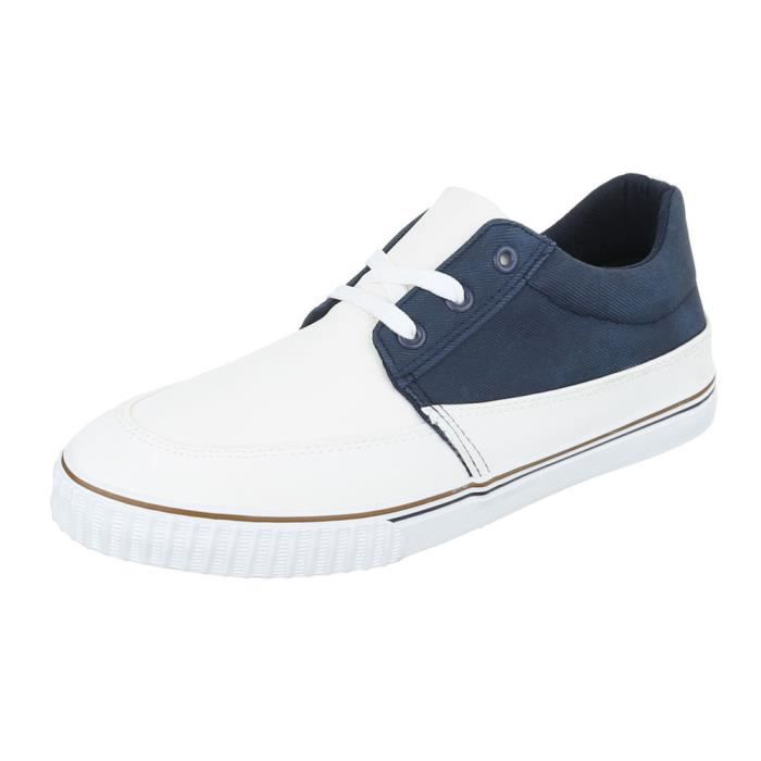 homme chaussures flâneurs Sneakers loisirs chaussures blanc 44 GF5UcYf6q