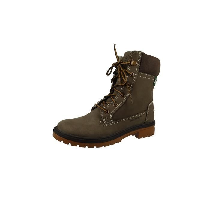 Bottes d'hiver NK2079 SNOW VALLEY Lined Tan Brown Kamik femmes