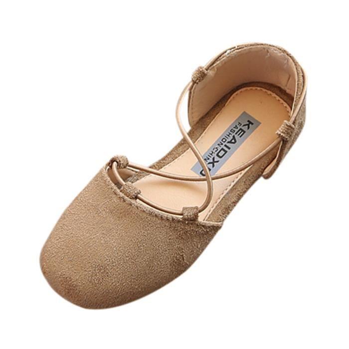 Brown Mode Filles Enfants Plastiques Solide Bébé Chaussures BOTTE Enfants Décontractées Chaussures vPqZfnxFw