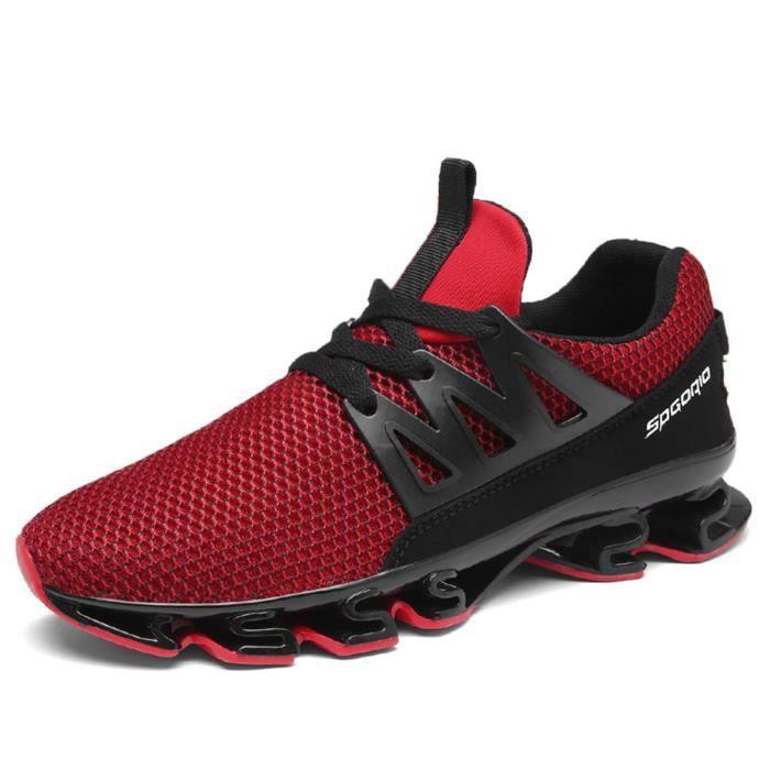 Chaussures Hommes Classique Sneakers Marque De Luxe Antidérapant Sneaker Plus Taille hemme Chaussure Nouvelle Mode Sneaker Noir Noir - Achat / Vente basket  - Soldes* dès le 27 juin ! Cdiscount