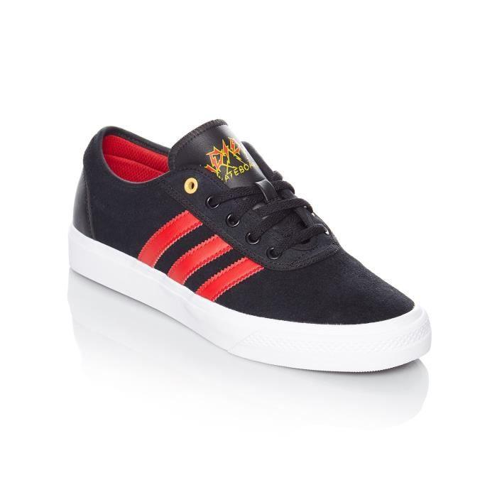 Chaussure Adidas Adi-Ease - Artist Collab Core Noir-Scarlet-Footwear Blanc
