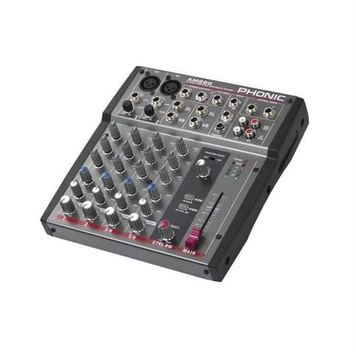 table de mixage 3 pistes