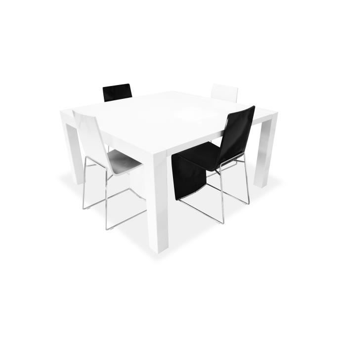Emejing Table A Manger Blanche Extensible Gallery - Awesome Interior ...