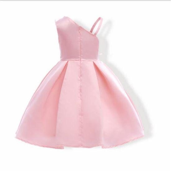 be328fea3bb Elégante Fleur Fille Robe De Mariage D été Filles Princesse Robe De Noël  Enfants Robe De Soirée Pour Fille Vêtements Enfants 2-8 ans Rose Rose -  Achat ...