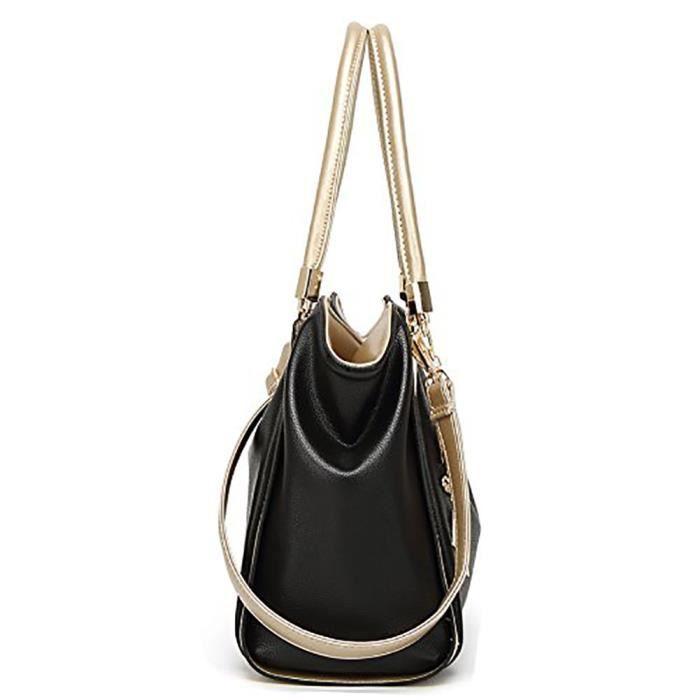 Cuir poignée supérieure sac fourre-tout pour sac à main oversize bourse Designer JHXD9