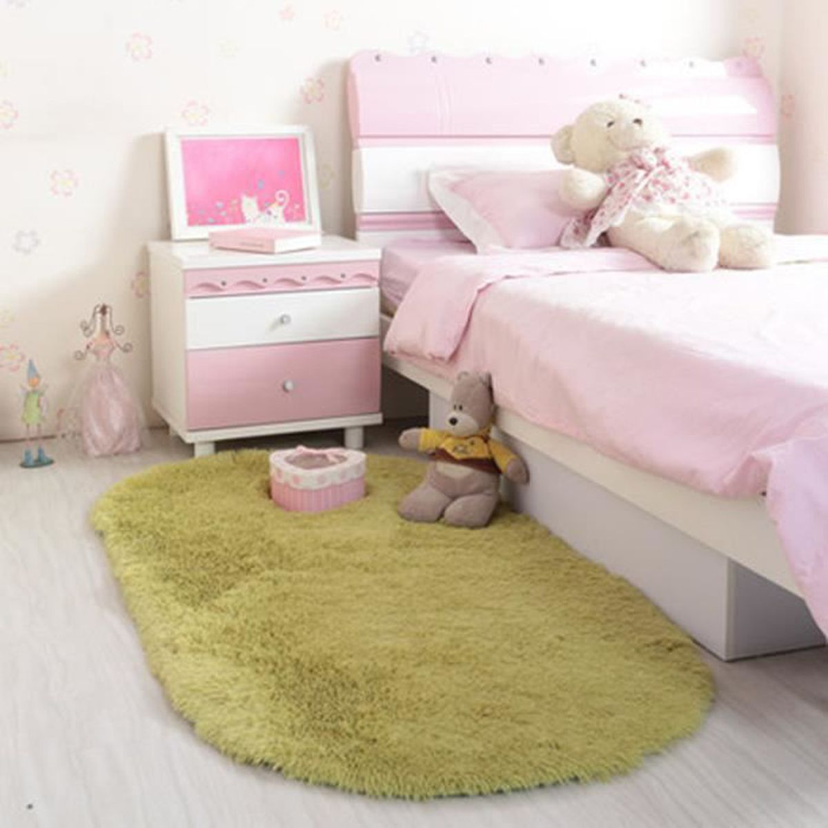 Tapis chambre enfant fille top tapis rond enfant toile - Tapis chambre bebe fille pas cher ...