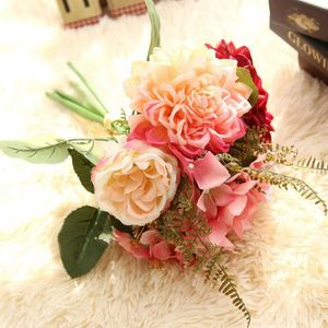 Roses Rose Papier Peint Fleur Bouquet Floral Cœurs Panneau En Bois