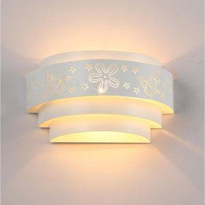 APPLIQUE  Applique Murale Interieur LED Effet Moderne Blanc