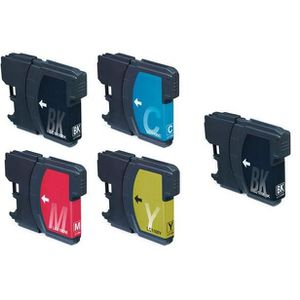 CARTOUCHE IMPRIMANTE Pack 5 cartouches compatibles BROTHER LC1100PACK -