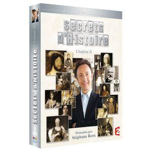 DVD DOCUMENTAIRE DVD Secrets d'histoire, chapitre 2