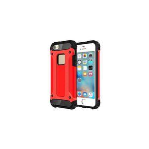 ACCESSOIRES SMARTPHONE Coque rouge arrière pour iPhone SE & 5 & 5s