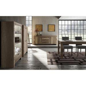 salle a manger complete avec vitrine achat vente pas. Black Bedroom Furniture Sets. Home Design Ideas