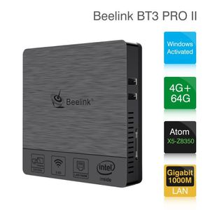 UNITÉ CENTRALE  Beelink BT3 PRO - Mini PC Unité Centrale - Intel A
