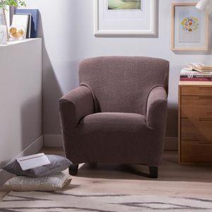 Housse fauteuil extensible achat vente housse fauteuil extensible pas cher soldes d s le for Housse fauteuil une place