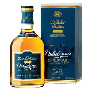 WHISKY BOURBON SCOTCH DALWHINNIE Distillers Edition