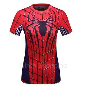 T-SHIRT T-shirt à Manches courtes Compression Super héros