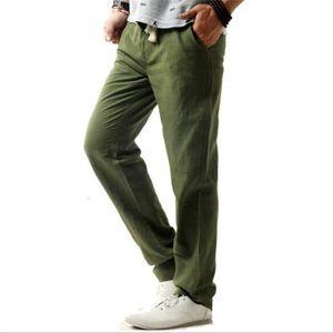 Pantalon homme lin blanc achat vente pas cher - Pantalon en lin homme pas cher ...