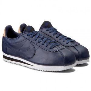 CLASSIC 861535 SE bleu Leather Nike CORTEZ 400 Modèle Baskets v4qwAB5q