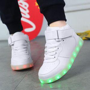 0c181d2f8c589 BASKET Chaussures LED Pour Enfants Les Enfants Ont Condui