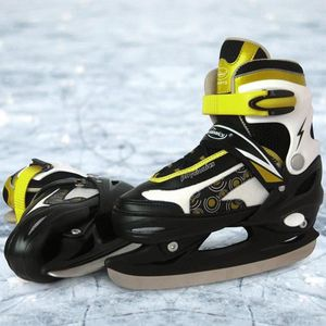 PATIN À GLACE Patins pour hockey sur glace (EHSLSH05) jaune