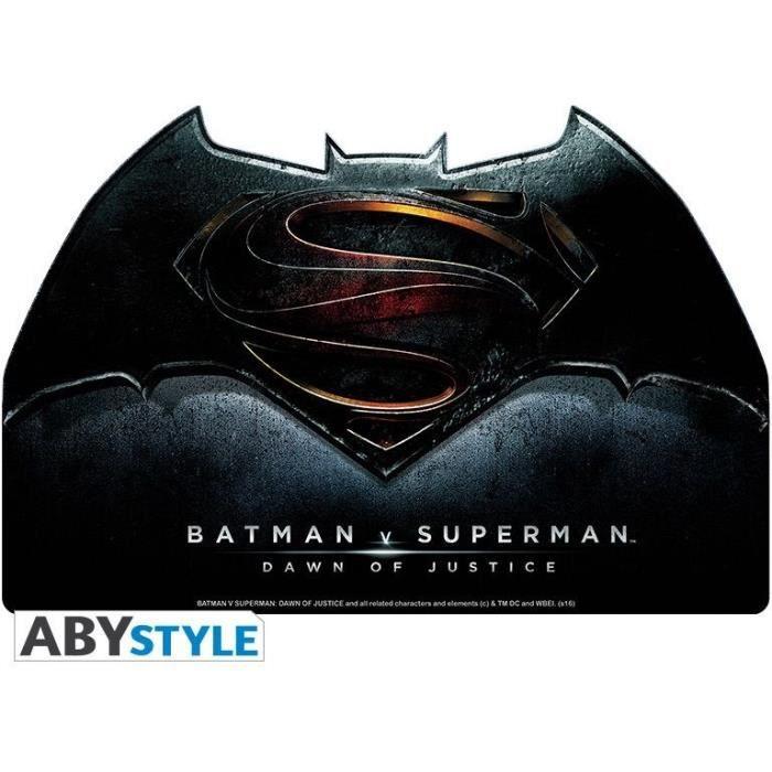 Tapis de souris DC Comics - Logo film Batman vs Superman - Forme originale