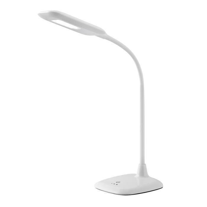BRILLIANT Lampe de bureau led Nele avec variateur tactile d'intensité - BlancLAMPE A POSER