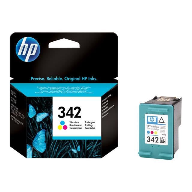 HP Cartouche d'encre 342 - 200 pages - 1 Pack - Blister multi tag - Cyan