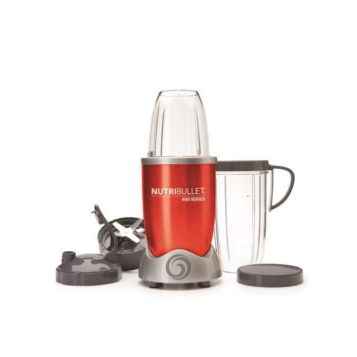 NUTRIBULLET Blender 900W - Rouge