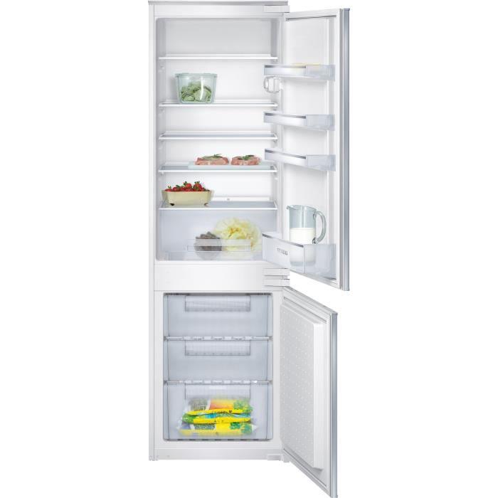 SIEMENS KI34VV21FF - Réfrigérateur congélateur bas encastrable - 267L (199+68) - Froid statique - A+