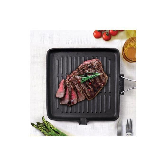 Grill BIALETTI fonte induction 24cm x 24 - Achat / Vente grill ...