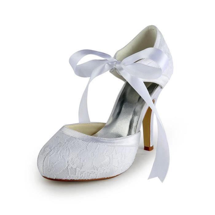 Jia Jia Wedding 37030A chaussures de mariée mariage Escarpins pour femme