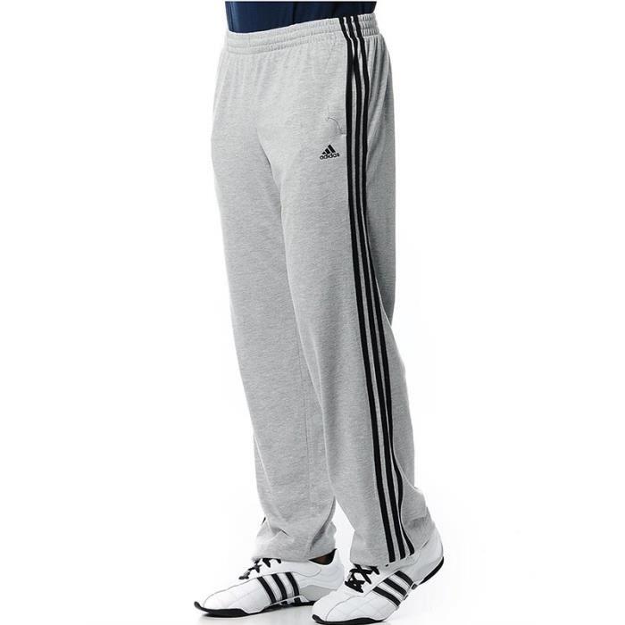 PANT SJ LONG GRI - Jogging Homme Adidas Gris - Achat   Vente ... 34cc40d3c1f